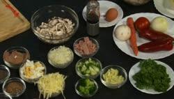 Cikória-radicchio-grépfrút saláta